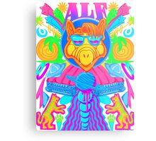 Psychedelic ALF Metal Print