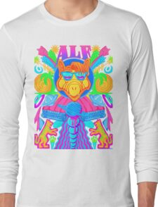 Psychedelic ALF Long Sleeve T-Shirt