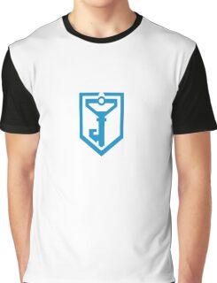 Ingress Resistance Logo - Blue Graphic T-Shirt