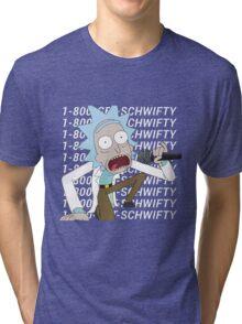 get schwifty Tri-blend T-Shirt