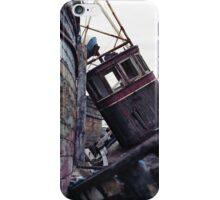 No More Fishing, Salen, Isle of Mull iPhone Case/Skin
