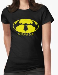 BatMoose Womens Fitted T-Shirt