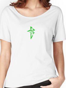 Ingress Enlightened Logo - Green Women's Relaxed Fit T-Shirt