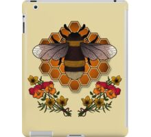 The Bumble Bee & his Honeycomb iPad Case/Skin