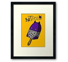 Batpolo Framed Print