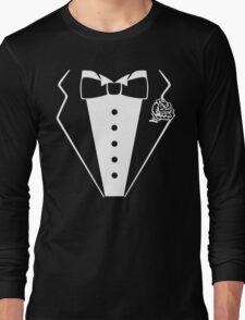 T-shirt Tuxedo Long Sleeve T-Shirt