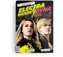 EWDG Comic Metal Print