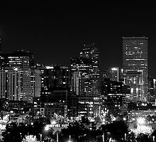 Denver In Black and White by Katagram
