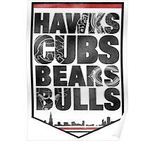 Chicago 4 Sport Poster