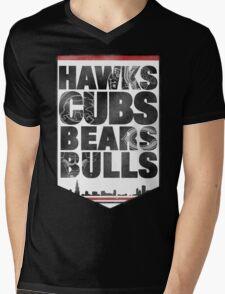 Chicago 4 Sport Mens V-Neck T-Shirt
