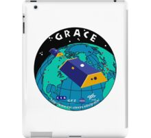 Gravity Recovery and Climate Experiment Logo iPad Case/Skin