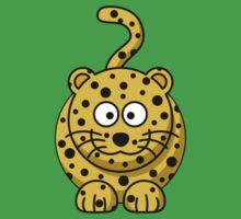 Cartoon Cheetah Kids Tee