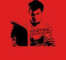 Dexter I don't Run, I make people run Mens V-Neck T-Shirt