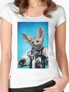 Captain Fennec Women's Fitted Scoop T-Shirt