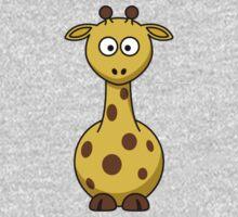 Cartoon Giraffe Kids Tee