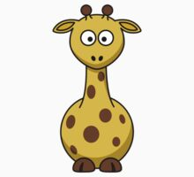 Cartoon Giraffe Baby Tee