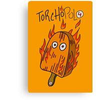 Torchopolo Canvas Print