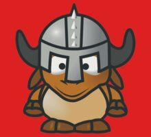 Cartoon Gnu Knight Kids Tee