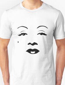 Old Hollywood - Marlene Dietrich Unisex T-Shirt