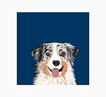 Australian Shepherd pet portrait dog gifts for aussie owner dog breeds Classic T-Shirt