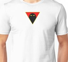 Space Ghost - Chest Symbol - White Clean Unisex T-Shirt