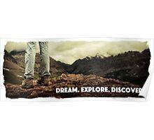 Dream Explore Discover Live Poster