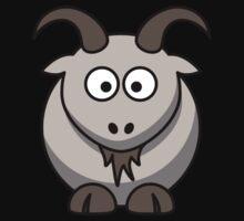 Cartoon Goat Kids Tee