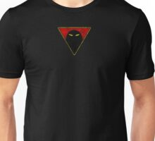 Space Ghost - Chest Symbol - Black Dirty Unisex T-Shirt
