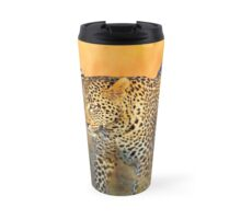 The Vomba young male leopard Travel Mug