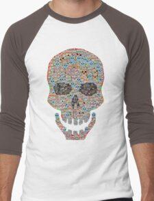 Crâne Men's Baseball ¾ T-Shirt