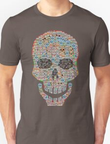 Crâne Unisex T-Shirt