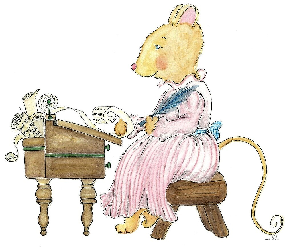 LETTER MOUSE by L.W. Turek