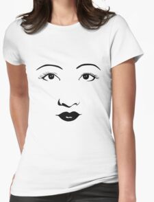 Old Hollywood - Anna May Wong Womens Fitted T-Shirt