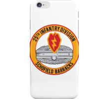 25th Infantry CAB iPhone Case/Skin
