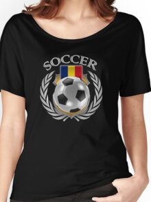 Romania Soccer 2016 Fan Gear Women's Relaxed Fit T-Shirt