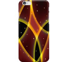 Red Space iPhone Case/Skin