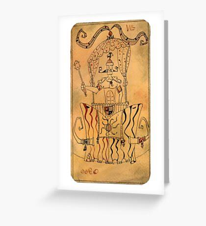 The Chariot - Major Arcana Greeting Card