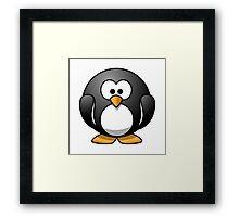 Cartoon Penguin Framed Print