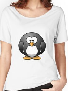 Cartoon Penguin Women's Relaxed Fit T-Shirt