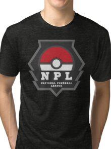 National PokeBall League - NPL Tri-blend T-Shirt