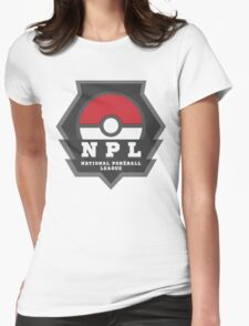 National PokeBall League - NPL Womens Fitted T-Shirt