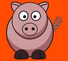 Cartoon Pig Kids Tee