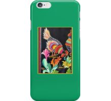 Spicey Hot Chicken Folk Art Kirsten Designs iPhone Case/Skin