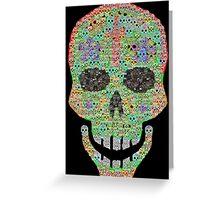 Crâne 2 Greeting Card