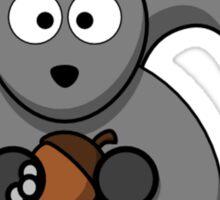Cartoon Squirrel Sticker