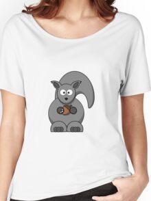 Cartoon Squirrel Women's Relaxed Fit T-Shirt