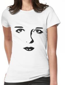 Silent Stars - Louise Brooks Womens Fitted T-Shirt