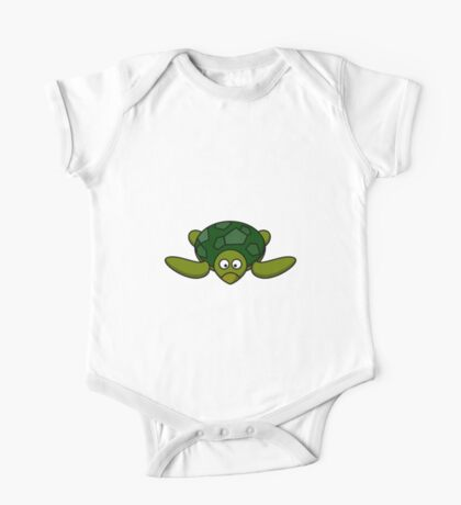 Cartoon Turtle One Piece - Short Sleeve