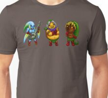 Majora's Mask Transformations Unisex T-Shirt