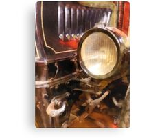 Headlight from 1917 Truck Canvas Print